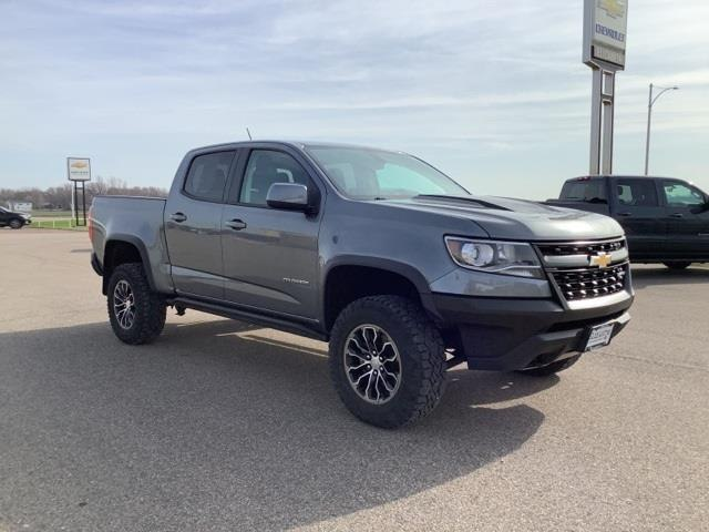 Used 2018 Chevrolet Colorado ZR2 with VIN 1GCGTEEN9J1189685 for sale in Truman, Minnesota
