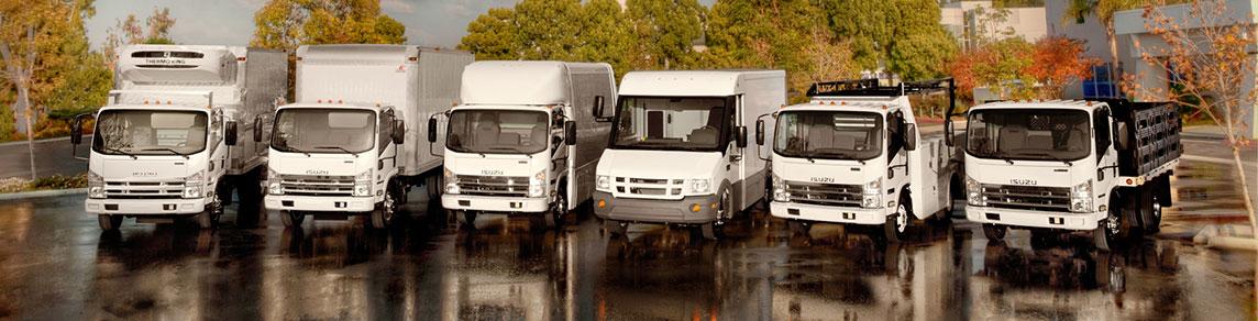 The Isuzu Truck Lineup